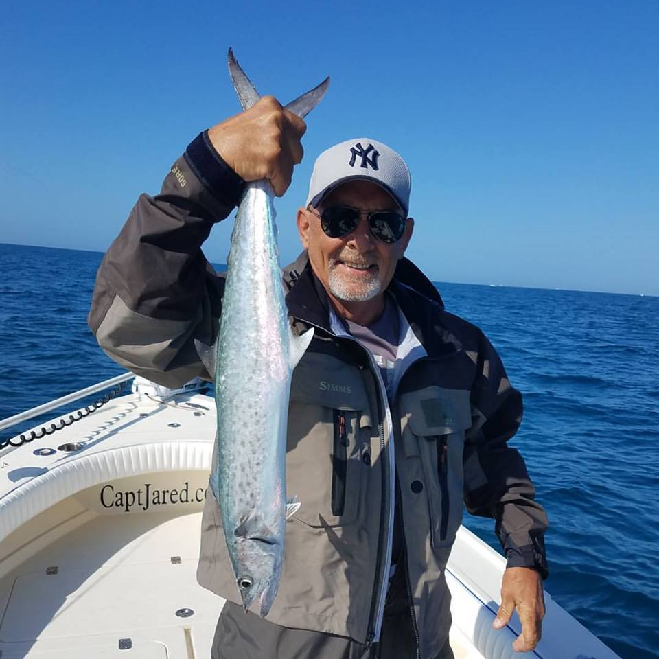 Mikes first Kingfish off clearwater beach
