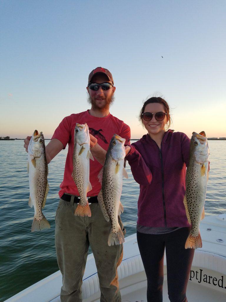 Cavlin & Nicole Clearwater Beach Fishing Charter trip