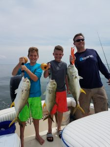 Kids fishing charters tampa clearwater st.pete
