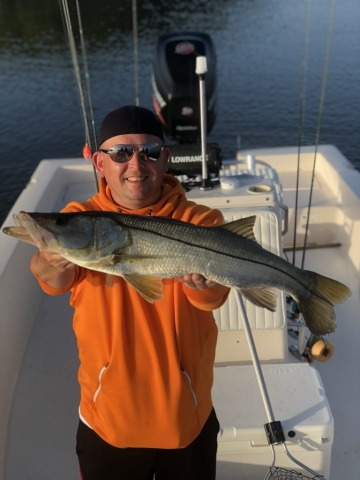 Mark Snook fishing charter safety harbor